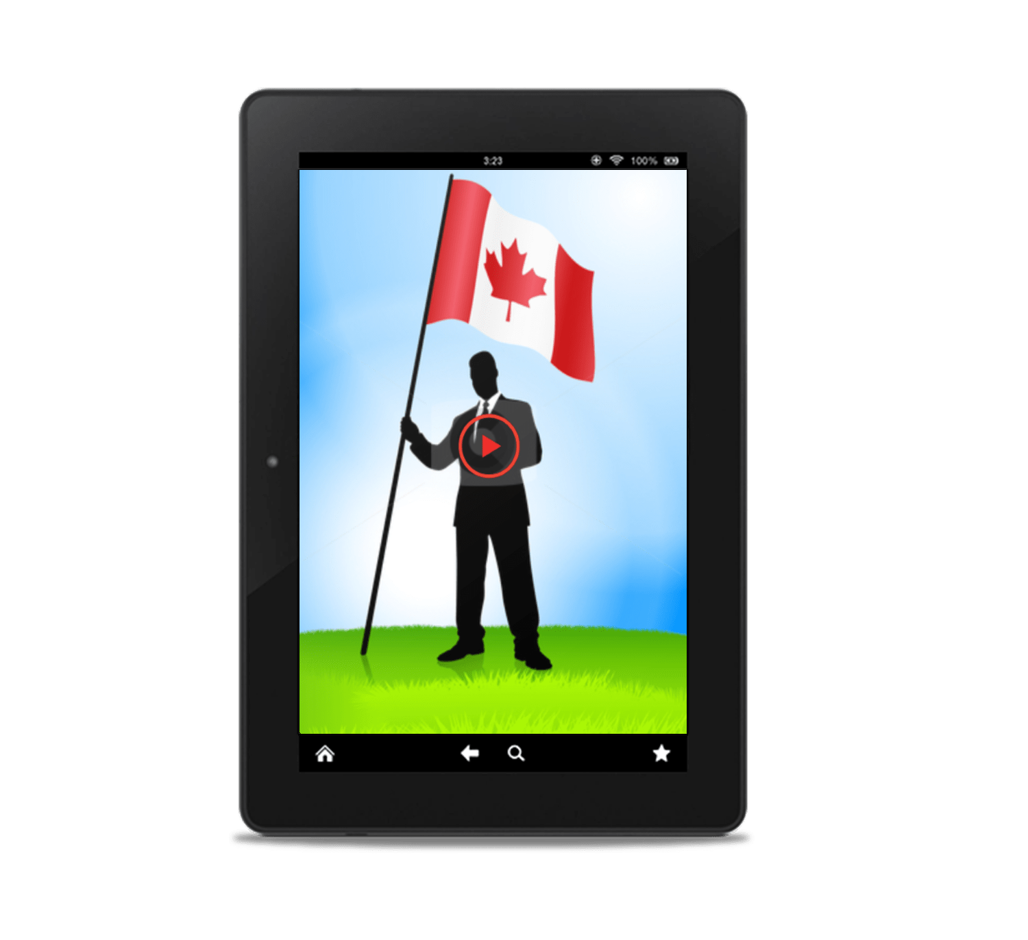 Relocate To Canada Video Overlay